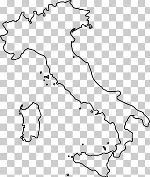 Regions Of Italy Blank Map Map PNG
