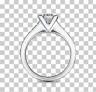 Engagement Ring Gemological Institute Of America Princess Cut Diamond Cut PNG