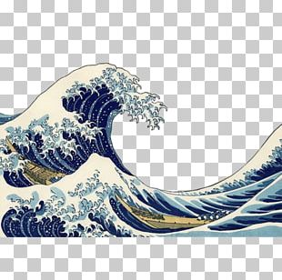 The Great Wave Off Kanagawa Printmaking Thirty-six Views Of Mount Fuji Ukiyo-e Woodblock Printing In Japan PNG