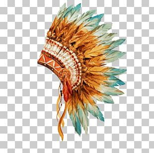 War Bonnet Indigenous Peoples Of The Americas Native Americans In The United States Tribal Chief Painting PNG