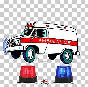 Ambulance Emergency Medical Technician Emergency Vehicle Cartoon PNG