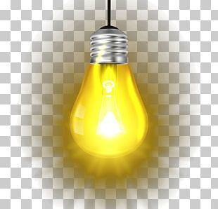Incandescent Light Bulb Lamp Electric Light PNG