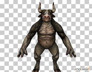 Legendary Creature Minotaur 3D Modeling 3D Computer Graphics PNG