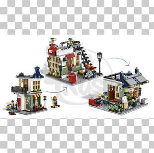 LEGO 31036 Creator Toy & Grocery Shop Lego Creator PowerDigger 31014 Toy Shop PNG