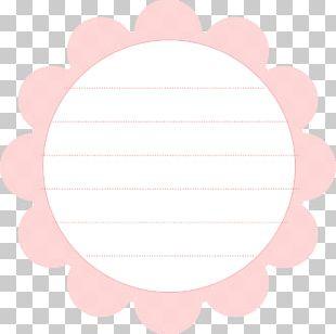 Paper Circle Petal Pattern PNG