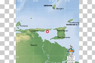 Port Of Spain The UWI Seismic Research Centre Grenada Earthquake Location PNG