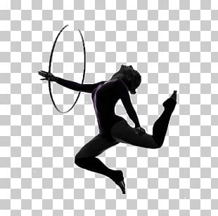 Rhythmic Gymnastics Photography Silhouette PNG