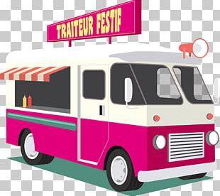 Food Truck Taco Car PNG