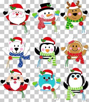 Santa Claus Feliz Natal Christmas Ornament PNG