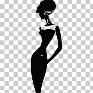 Silhouette Fashion Illustration PNG