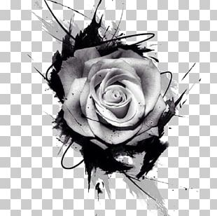 Tattoo Drawing Rose Pink PNG