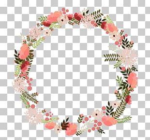 Wreath Flower Floral Design PNG