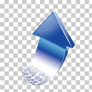 Arrow Curve Gradient Euclidean PNG