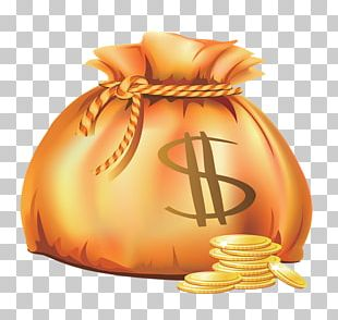 Bag Gold Coin PNG