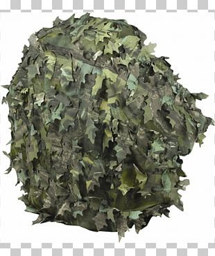 Military Camouflage Ghillie Suits Backpack PNG