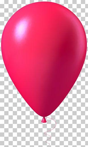Balloon Pink PNG