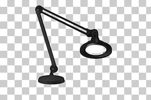 Light-emitting Diode Magnifying Glass LED Lamp PNG