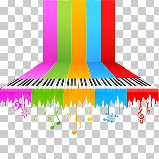 Piano Background Music Musical Note PNG