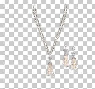 Earring Necklace Locket Jewellery Pearl PNG