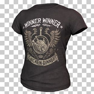 T-shirt PlayerUnknown's Battlegrounds Chicken Clothing PNG