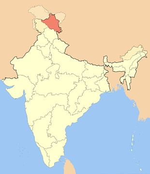 South India Ladakh States And Territories Of India Map Geography PNG