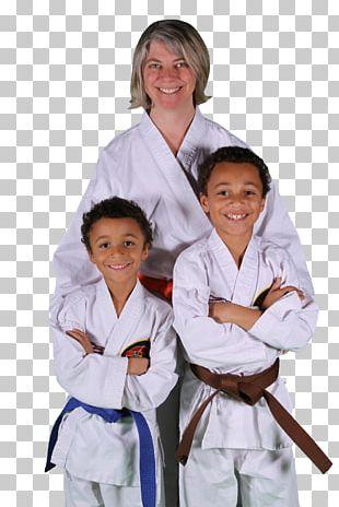 Karate Japanese Martial Arts Dobok Family PNG