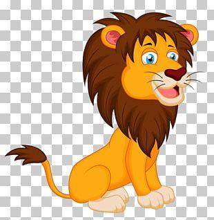 Lion Cartoon PNG