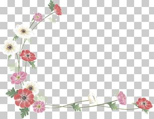 Floral Design Flower Watercolor Painting PNG