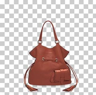 Handbag Leather Brown Caramel Color Messenger Bags PNG