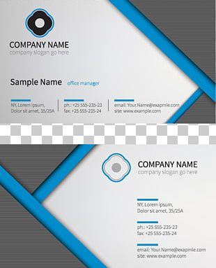 Business Card Visiting Card Logo Printing PNG