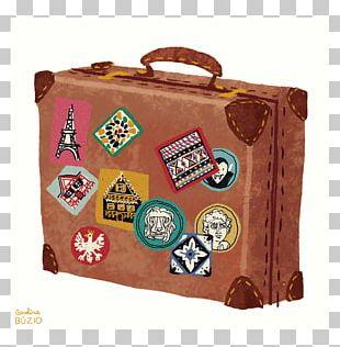 Printmaking Suitcase Travel Printing PNG