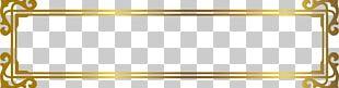 Gold Frame U041du0430u0442u044fu0436u043du0430 U0441u0442u0435u043bu044f PNG