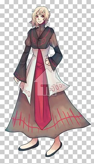 Robe Gown Costume Design Cartoon PNG