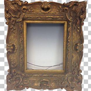 Frames Antique Wood Carving Gilding PNG