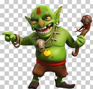Clash Of Clans Clash Royale Jareth Goblin Game PNG