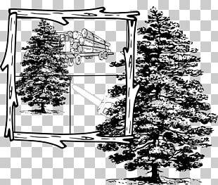 Lumberjack Skidder Logging Truck PNG