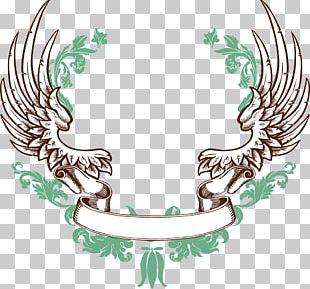 Ribbon Banner Wing PNG