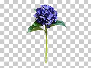 Hydrangea Cut Flowers Artificial Flower Plant Stem PNG