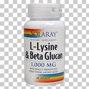 Dietary Supplement Lysine Beta-glucan Arginine Vitamin PNG