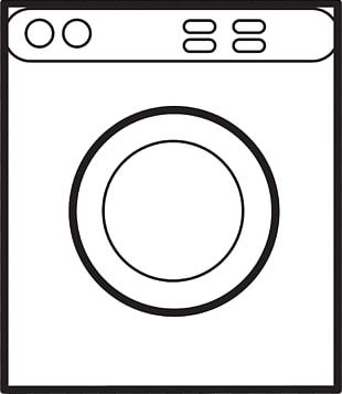 Haier Home Appliance Washing Machine PNG
