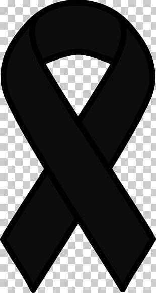 Awareness Ribbon Black Ribbon Cancer Pink Ribbon PNG