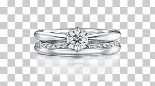 Wedding Ring Platinum Engagement PNG