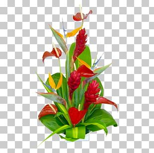 Hawaii Flower Bouquet Floristry Cut Flowers PNG