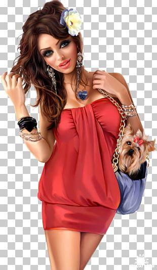 Danielle Lloyd Fashion Illustration Woman PNG