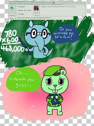 Flippy Character Cartoon PNG