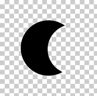 Crescent Circle Point Angle PNG