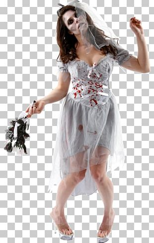 Costume Party Halloween Costume Bride Dress PNG