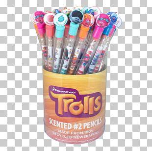 Pencil Trolls School Supplies Eraser PNG
