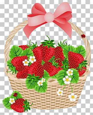 Strawberry Basket Fruit PNG