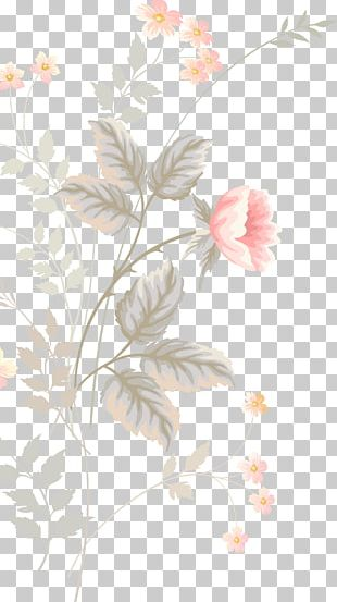 Floral Design Flower Watercolor Painting Pattern PNG